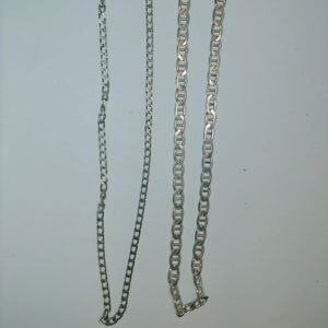 Unknown Accessories - 925 Silver Chain Necklaces Italy Metal Jewelry